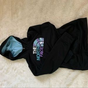 Girl's Teal and Purple North Face Jacket